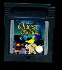 Game Boy -Nintendo--Quest for Camelot--Spiel