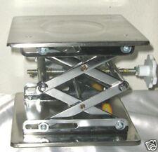 "Stainless steel lab jack stand rack scissor 8"" New"