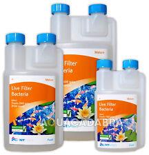 NT Labs pesce maturo POND FILTRO LIVE Start Batteri Boost fanghi REMOVER