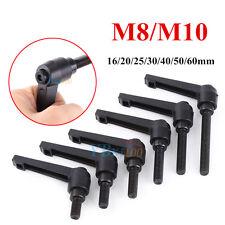 M8/ M10 Clamping Lever Réglable Levier de Serrage Poignée Bouton de Verrouillage