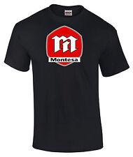 MONTESA Estilo Motocicleta Estampada Camiseta en 6 Tamaños