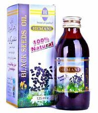 Hemani Black Seed Oil (Kalonji) 125ml 100% Natural Nigella Sativa