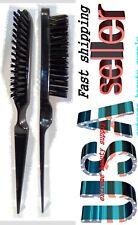 Black Tease  Nylon Bristle teasing brush crazy comb