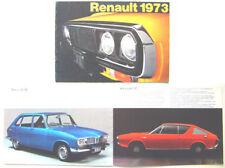 Renault 4 5 6 12 16 15 17 1972-73 Original UK Brochure