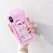 3D Perfume Liquid Glitter Silicone case cover for iPhone 6S+ 7 8 plus 6 6s 7Plus