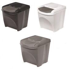 Mülleimer Abfalleimer Mülltrennsystem 20L Box Behälter Müllsortierer 3 Farben