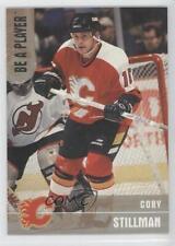 1999 In the Game Be A Player Memorabilia Silver #57 Cory Stillman Calgary Flames