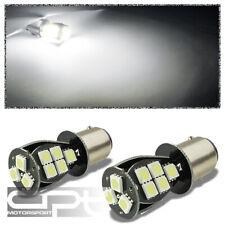 X2 1157 5050/5055 18SMD 360? BRIGHT WHITE LED BREAK/TURN SIGNAL/TAIL LIGHT/BULB