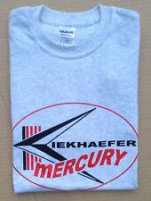 Kiekhaefer Mercury Vintage Style Outboard Motor Shirt Retro Nautical Ash Gray
