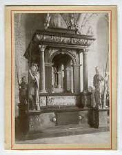 Tomb King Christian III Dorothea Roskilde Denmark 1880s Photograph