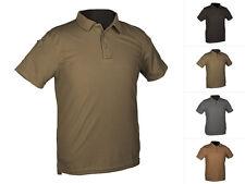 Mil-Tec Tactical Polo-Shirt Quick Dry Poloshirt T-Shirt Kurzarm S-3XL