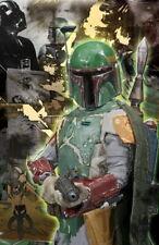 63016 Boba Fett Empire Strikes Back Han Solo Wall Print Poster CA