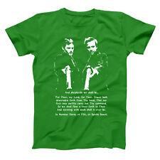 Boondock Saints Prayer  Irish St Patricks Day Green Basic Men's T-Shirt