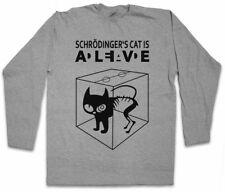 SCHRÖDINGERS CAT IS ALIVE DEAD I LANGARM T-SHIRT The Big Schroedingers Katze