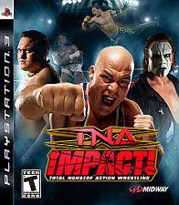 TNA Impact (Sony PlayStation 3, 2008) GOOD