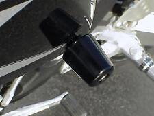 2005-2008 Kawasaki Ninja ZX6R ZX10R BLACK FRAME SLIDERS