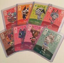 Animal Crossing Amiibo Cards Series 4 NA US You Choose & Pick Nintendo 301-400