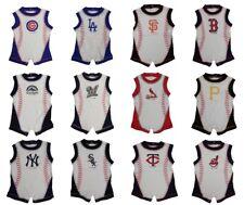 MLB Infant / Baby Stitches Romper Bodysuits - Choose Team