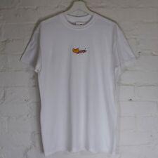 Actual Fact wucci ricamato Wu Tang Clan bianco maglietta t-shirt