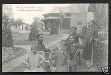 Saigon Musicians Costume Indo-Chine Vietnam ca 1910