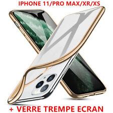 Luxe Coque Pr iPhone 11 /11 Pro /11 Pro Max Xs Xr Skin TPU Housse Etui Brillant