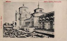 #MILANO: INTERNO CIMITERO MONUMENTALE