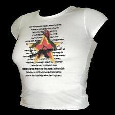 Stella Rossa Sovietica RIVOLUZIONE Spiaggia Retrò Fresco T-shirt donna tutte le taglie