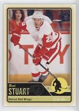 2012-13 O-Pee-Chee #455 Brad Stuart Detroit Red Wings Hockey Card