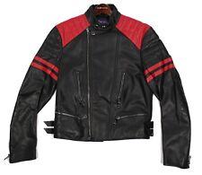 $3,995 Ralph Lauren Purple Label Mens Slim Randolph Leather Biker Moto Jacket