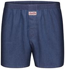 """Sugar Pine - Boxershorts classici da uomo - 100% cotone - """"Jeans 8102"""""""