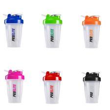 Pro Elite Mini  Whey Protein Powder BCAA Mixer Bottle Shaker 400ml