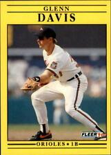 1991 Fleer Update Baseball Card Pick