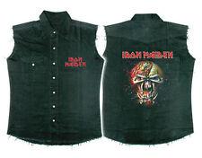 Official Iron Maiden - Final Frontier Face - Sleeveless Work Shirt