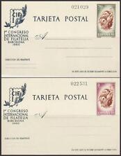 ESPAÑA ENTERO POSTAL 1960 88/89 CIF