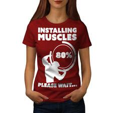 Muscle Gym Fitness Sport Women T-shirt NEW | Wellcoda