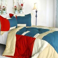 Sunshine Coast Down Alternative Comforter Set twin queen or king - bue red