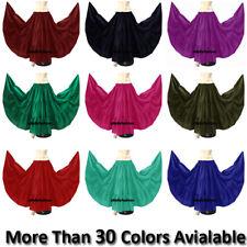 Gypsy Cotton 10 Yard 3 Tier Belly Dance Tribal Jupe Ethenic Flamenco Skirt