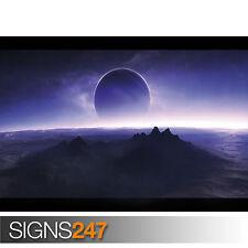 Sci Fi Twilight (3015) image poster imprimé art A0 A1 A2 A3 A4 - 2ème moitié prix!