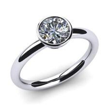 Verlobungs Ring Solitär Diamant Brillant 0.25 Karat, VS2/F, 585/14K Weißgold
