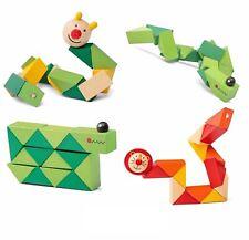 Kids Wooden Twisty Fidget Animal Sensory Fiddle Toy Autism Adhd Stress Relief