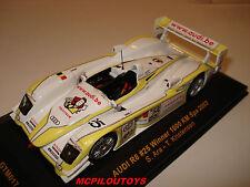 IXO GTM017 AUDI R8  N°25 WINNER 1000 KM DE SPA 2003 au 1/43°