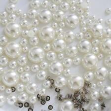 Buddly Crafts Flatback Faux Pearl Rivets