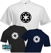 Star Wars Imperio-T Shirt, Jedi, Rebel, Force despierta, Insignia, Logotipo, Pin, Nuevo