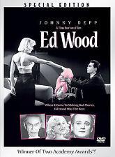 ED WOOD rare Special Edition Comedy dvd JOHNNY DEPP Bill Murray TIM BURTON