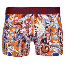 6154 Jack /& Jones Uomo Boxershorts Biancheria Intima Shorts Pantaloni 3er PACK GRIGIO BLU