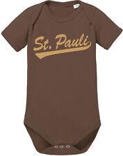 ST. PAULI Baby Body Creme print, braun