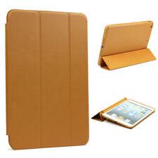 Urcover® Smart Case Schutzhülle Cover Case Braun Apple iPad 2 3 4
