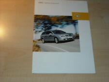 21317) Opel Vectra C Caravan Prospekt 2003