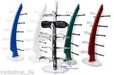 Acryl Brillenständer Brillendisplay für 5 Brillen Farbe freie Auswahl