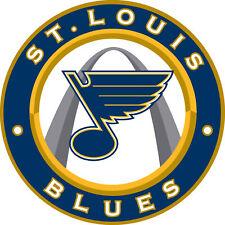 St Louis Blues Circle logo Vinyl Decal / Sticker 5 Sizes!!!